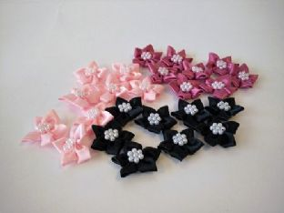 423-16 Satin Stars with Pearls - Full Colour Range